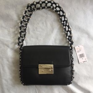 Michael Kors Large Piper Flap Shoulder Bag